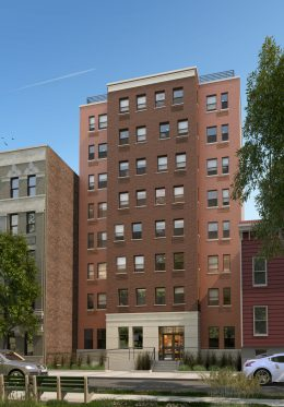 1422 Crotona Park East, rendering courtesy Briarwood Organization