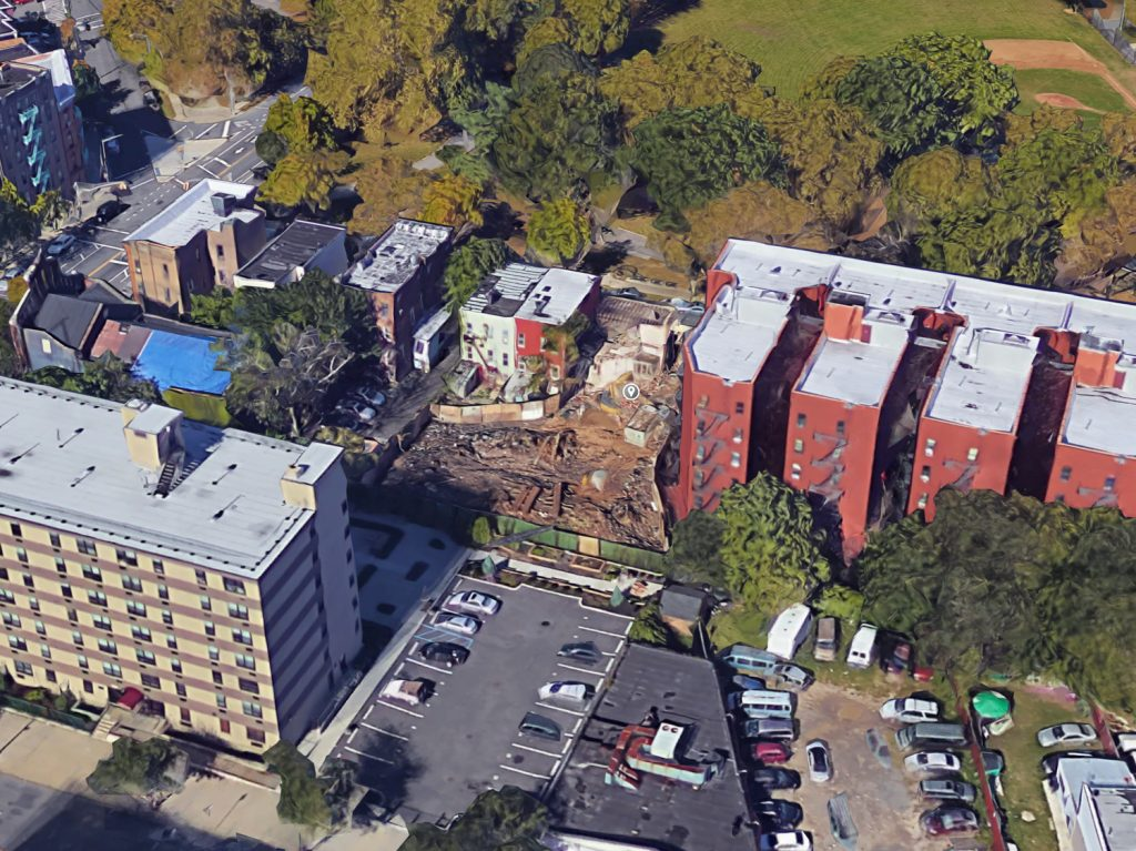 1422 Crotona Park East, via Google Maps