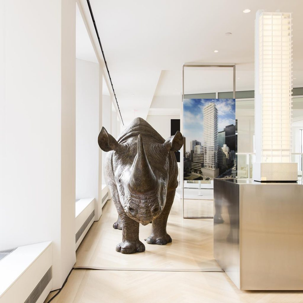 Model of 200 East 59th Street + Rhino, image via Macklowe Properties