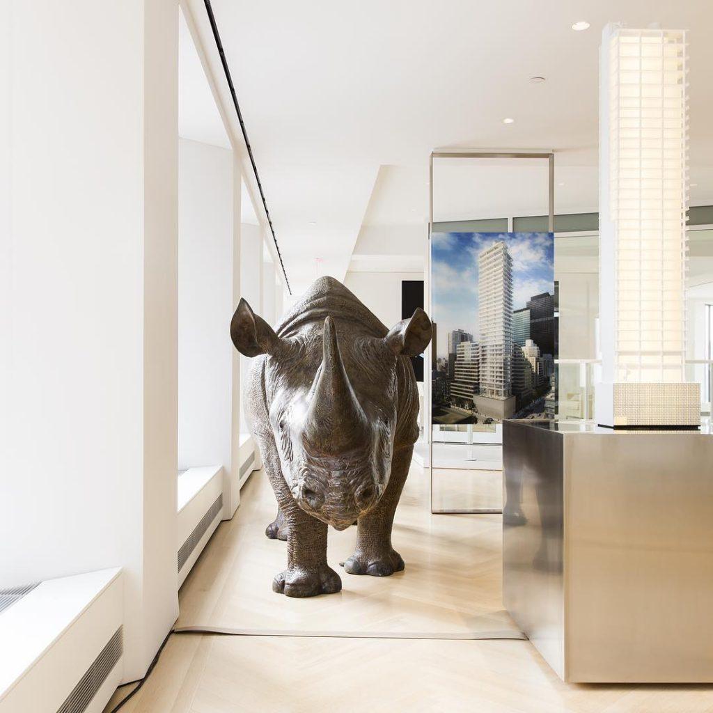 Model of 200 East 59th Street + Rhino, image via Macklowe Properties