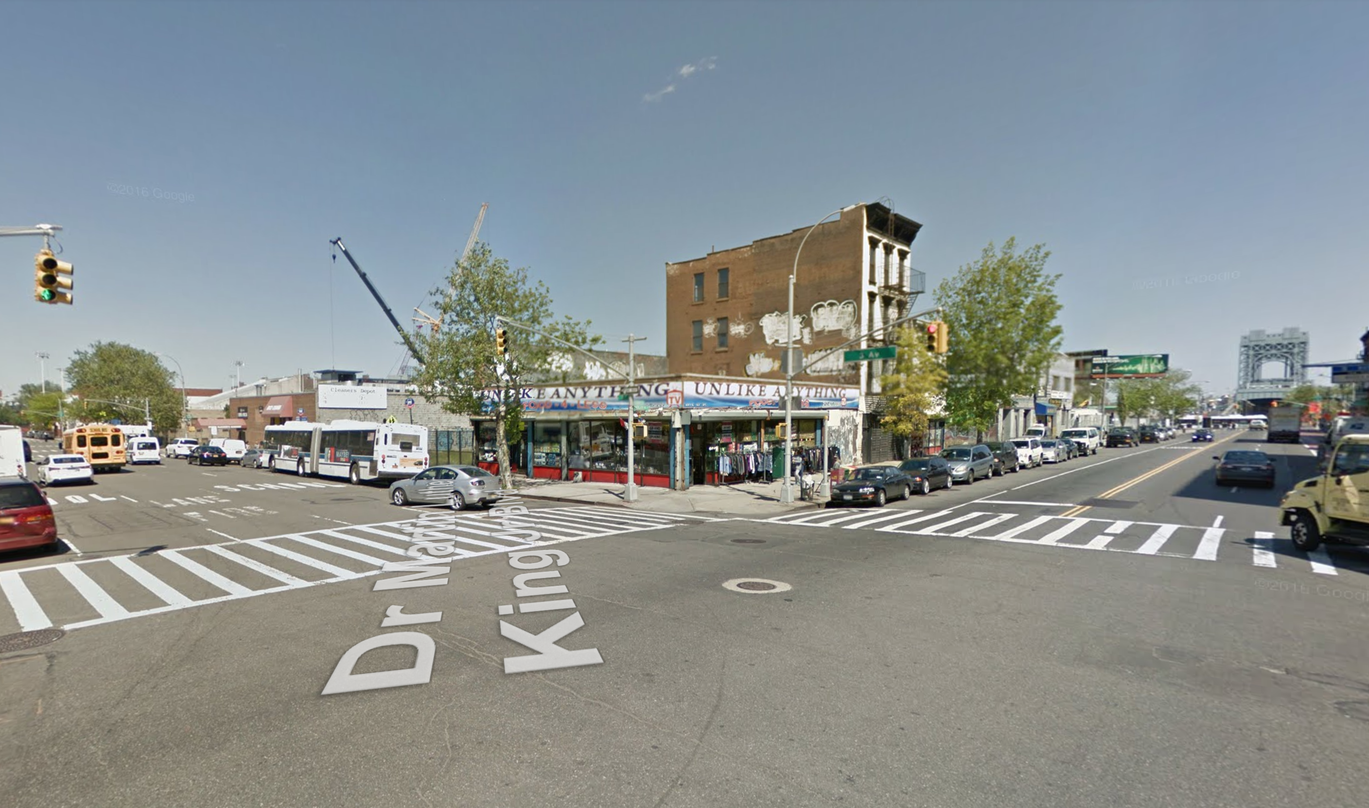 201 East 125th Street, via Google Maps