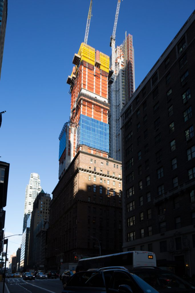 217 West 57th Street, image by Andrew Campbell Nelson