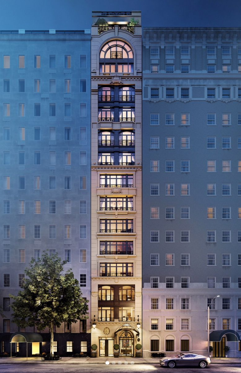 27 East 79th Street, rendering by H.T.O. Architects