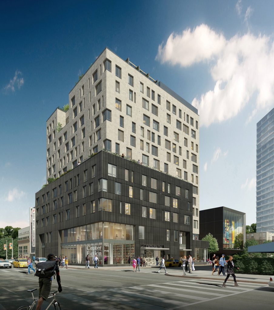 280 Ashland Place, rendering by Jonathan Rose Companies