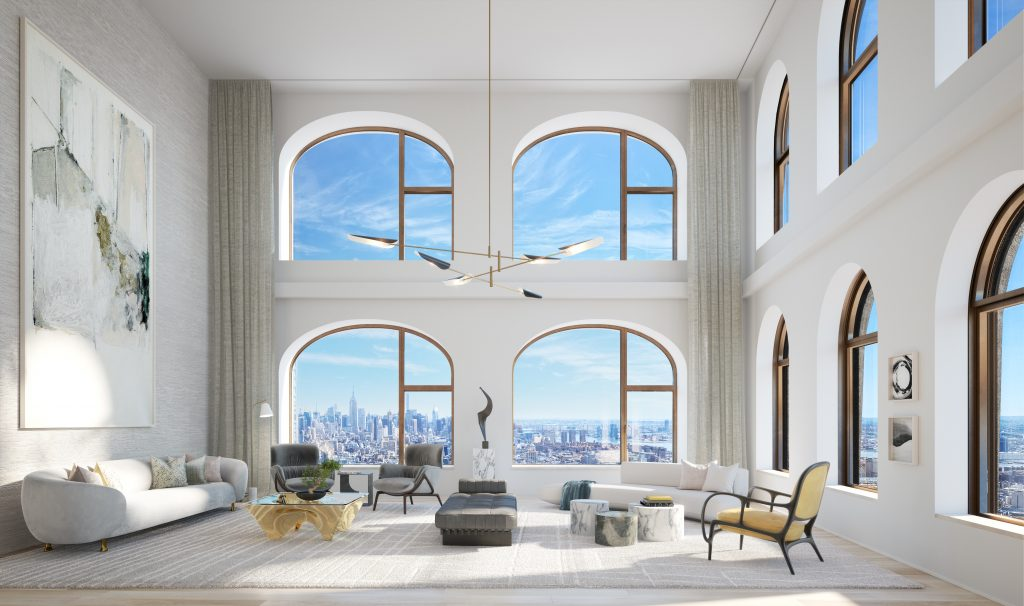130 William - Interior rendering courtesy of Lightstone