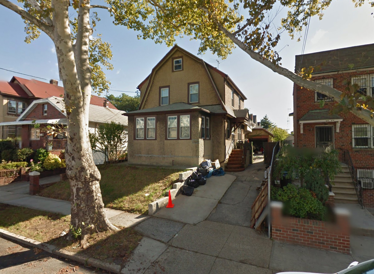 43-65 157th Street, via Google Maps