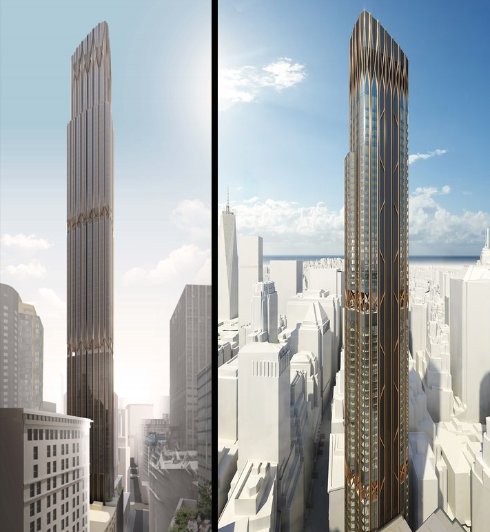 New Renderings For Supertall 45 Broad Street As More