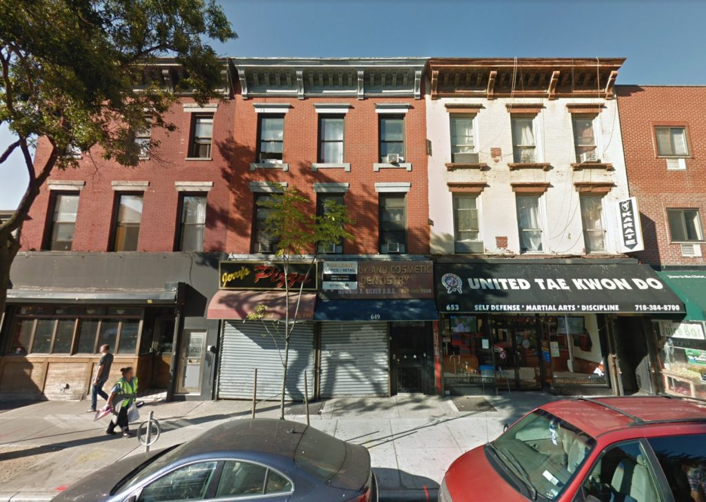 649 Grand Street, via Google Maps
