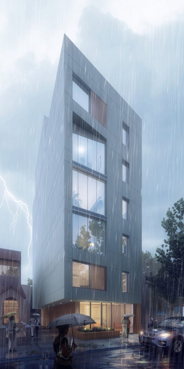 679 Lefferts Avenue, rendering by IMC Architecture