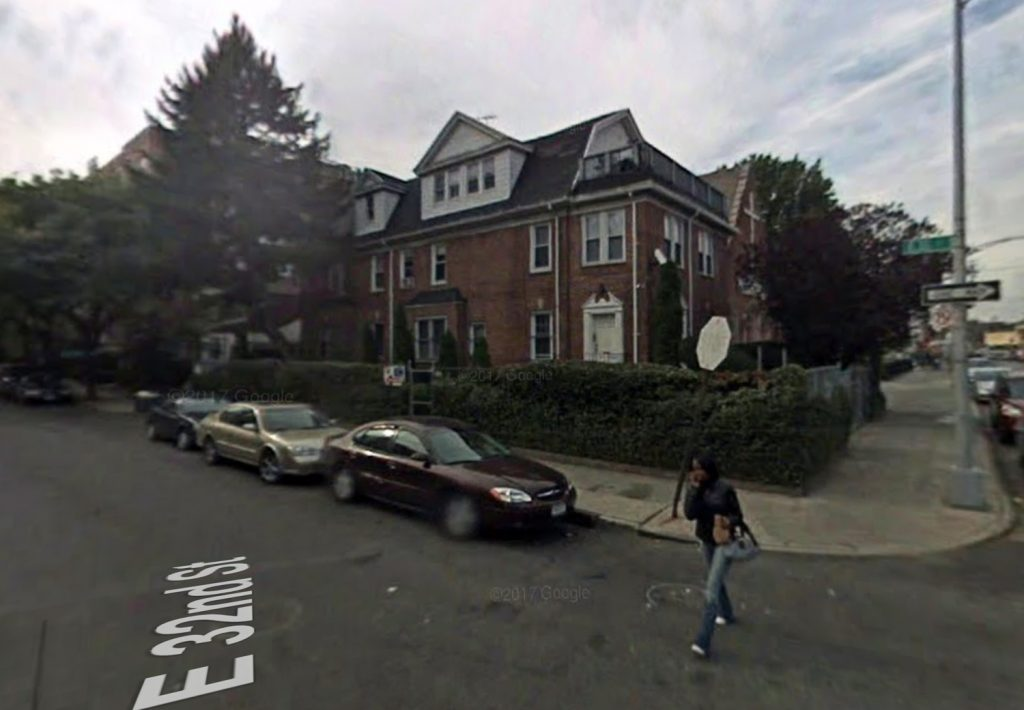 712 East 32nd Street from 2007, via Google Maps