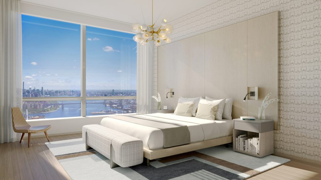 Brooklyn Point Interior, rendering by Williams New York