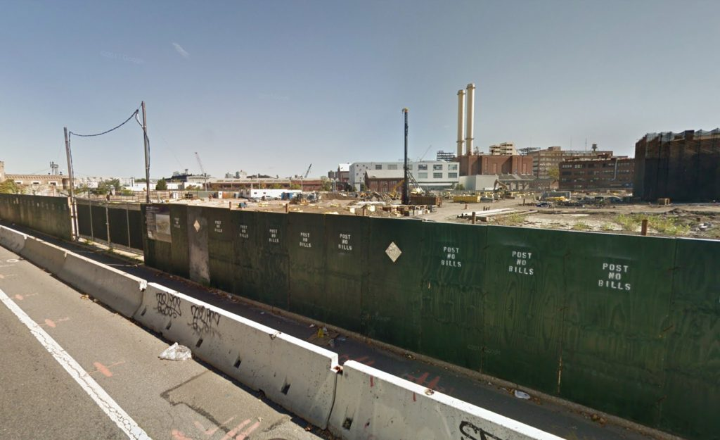 Brooklyn Yards Development, via Google Maps