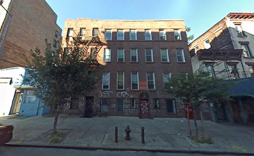Former structure at 247 East 117th Street, via Google Maps 2007