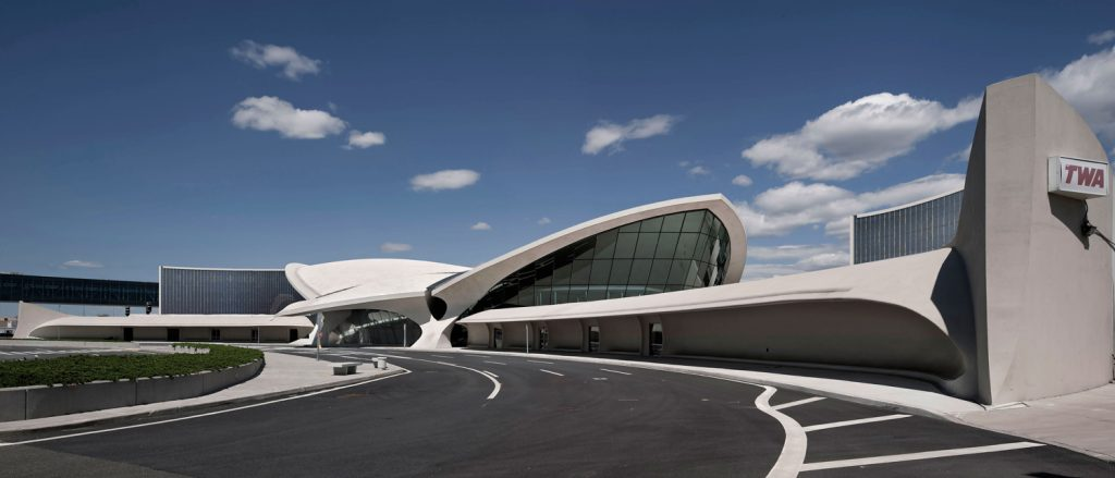 TWA Hotel rendering, by MCR Development