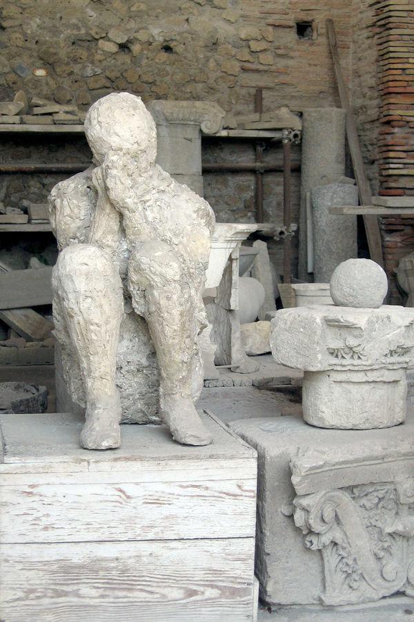 Vesuvius victim