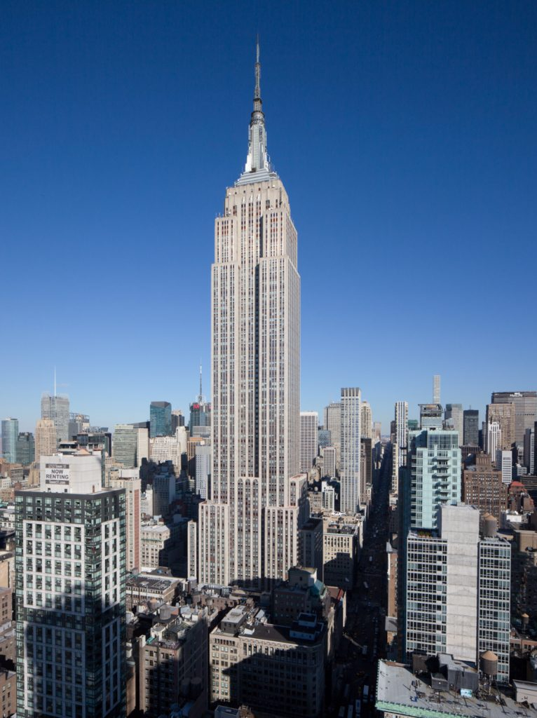 View of the Empire State Building, image by Andrew Campbell Nelson
