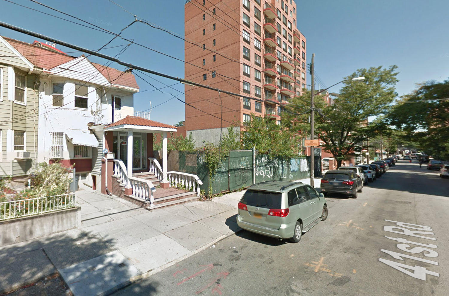 132-27 41st Road, via Google Maps