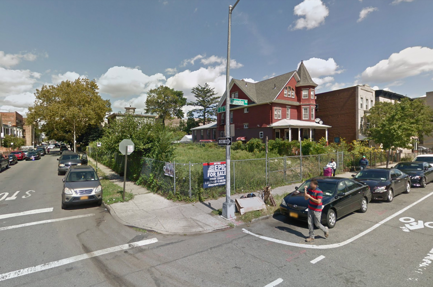 2203 Clarendon Road, via Google Maps