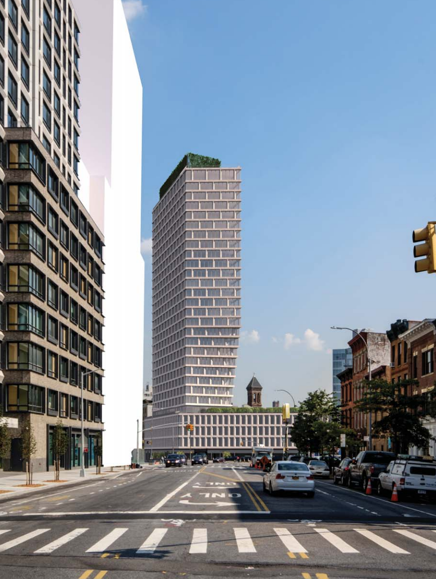 Morris Adjmi-Designed Residential Tower Coming to 550 Clinton Avenue in Brooklyn's Clinton Hill