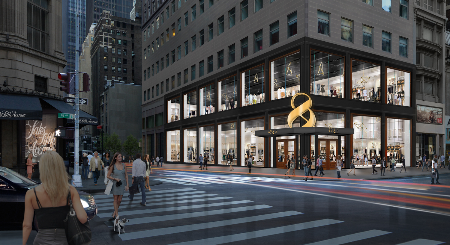 609 Fifth Avenue, rendering courtesy Cushman and Wakefield