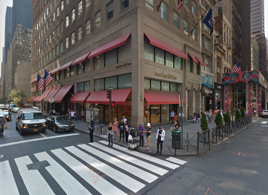 609 Fifth Avenue, via Google Maps