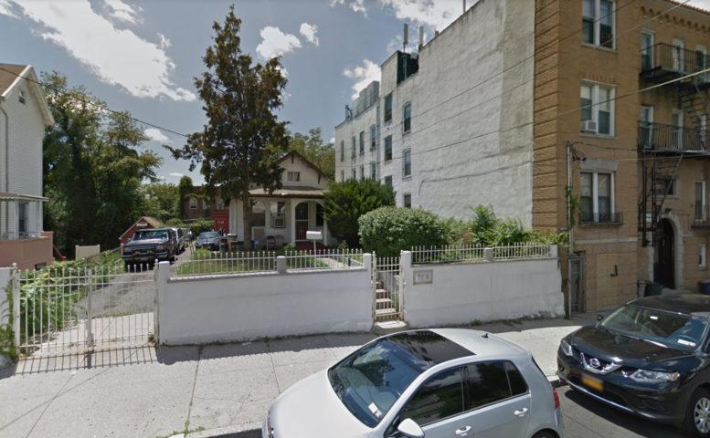 758 East 219th Street, via Google Maps