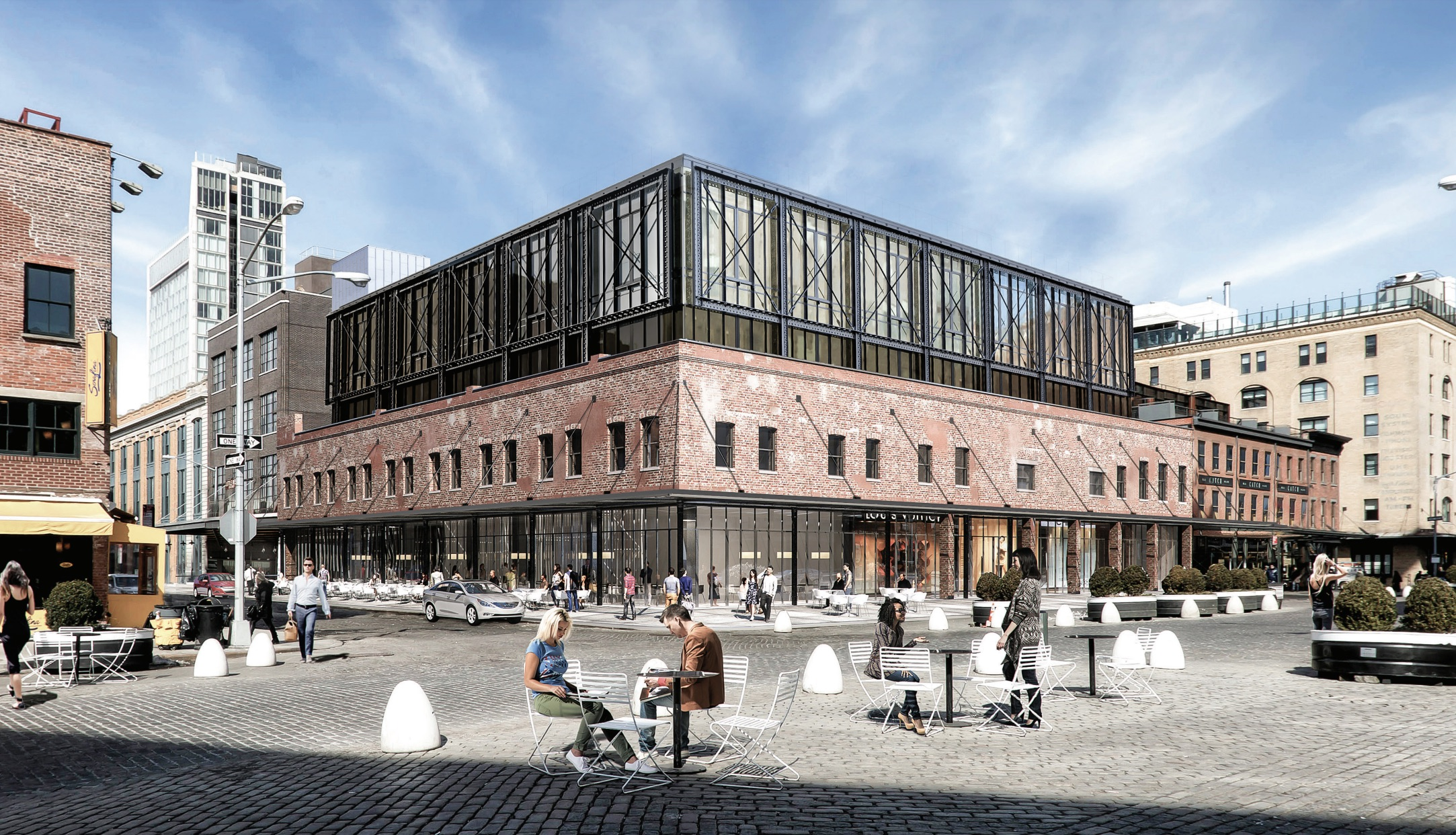 Facade Modification Proposed For Historic 9 19 Ninth Avenue Meatpacking District New York Yimby