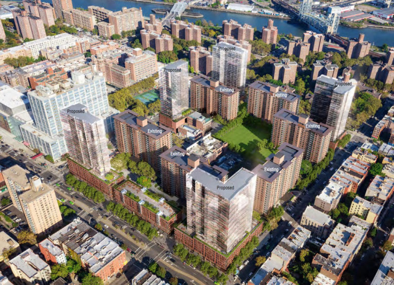 Expanded plans adding 1 642 new units to lenox terrace for Jackson terrace yonkers ny