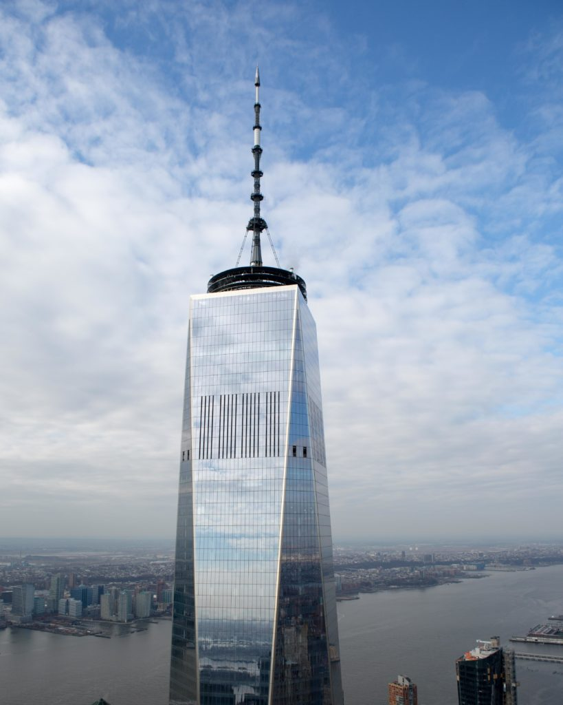 1 World Trade Center from 3WTC, image by Andrew Campbell Nelson