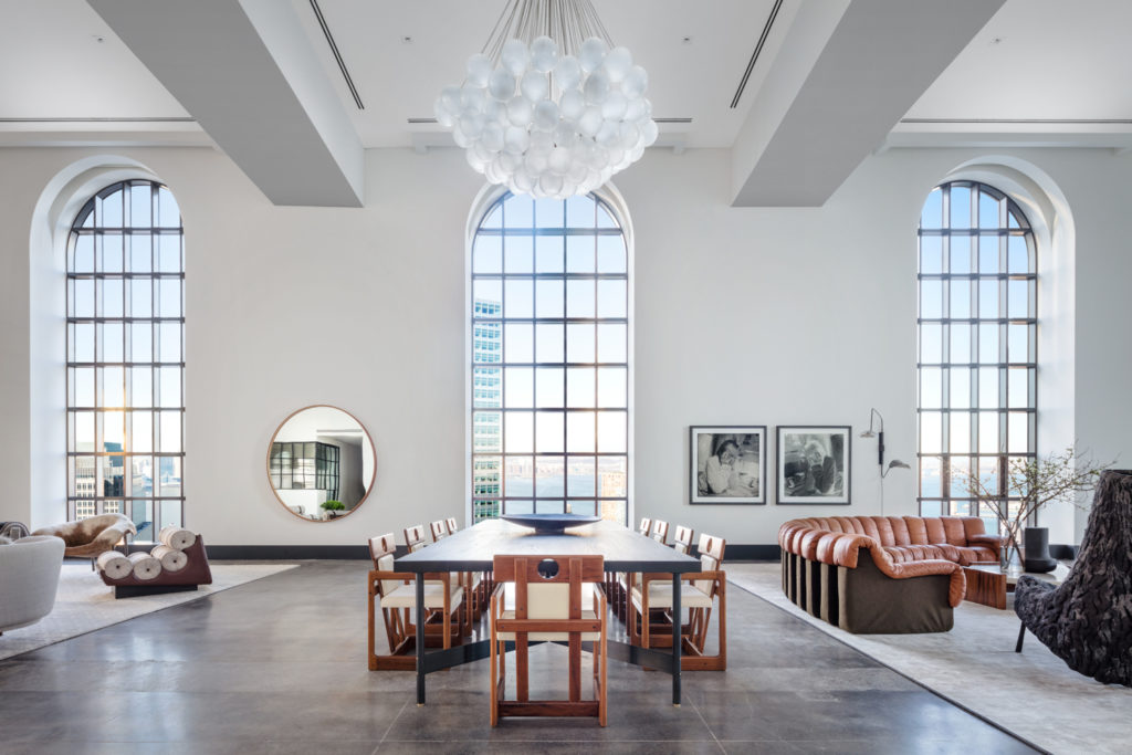 100 Barclay Street Penthouse Dining Room West, image by Scott Frances