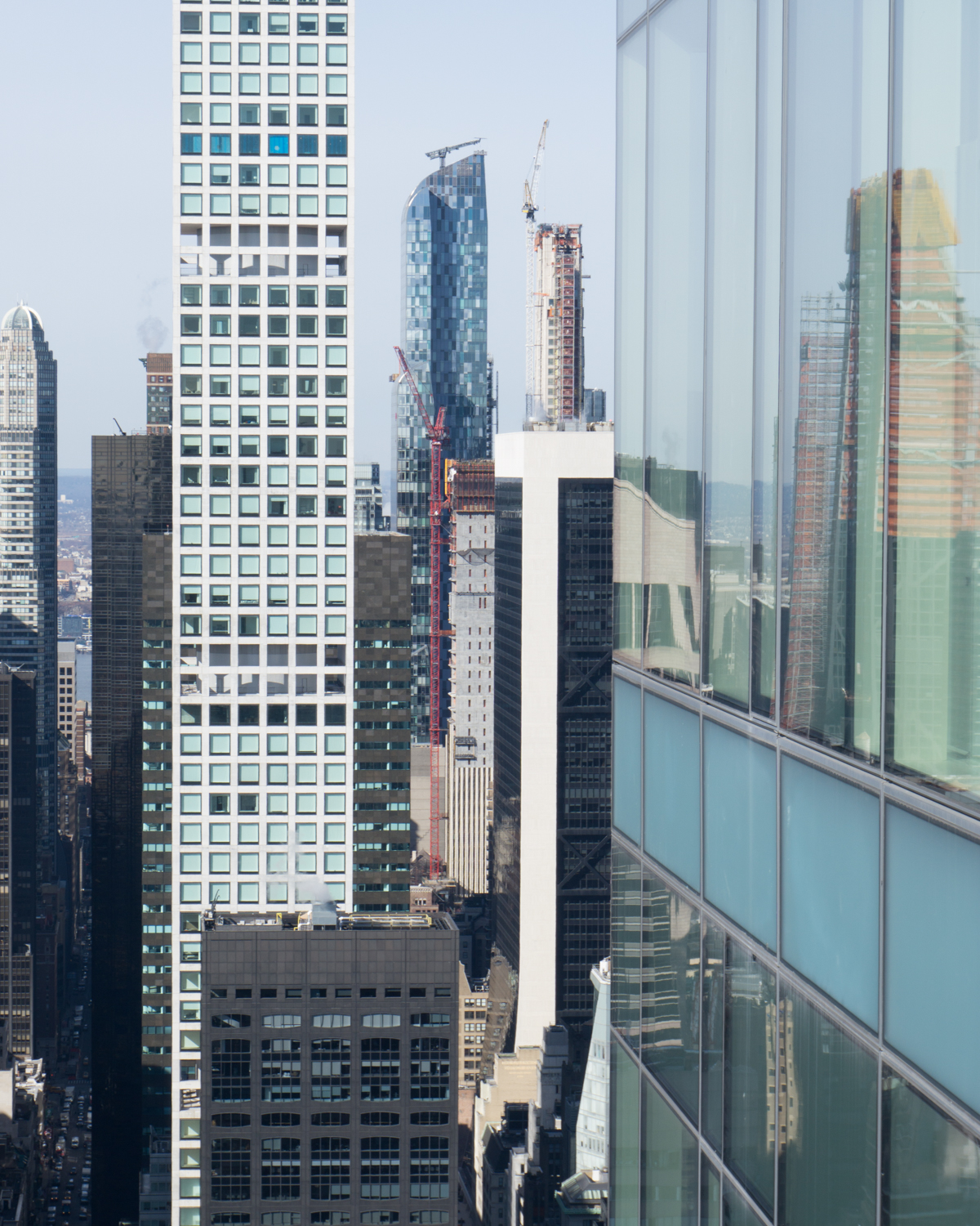 220 Central Park South Apartment: Midtown Manhattan's New Supertalls As Seen From 252 East