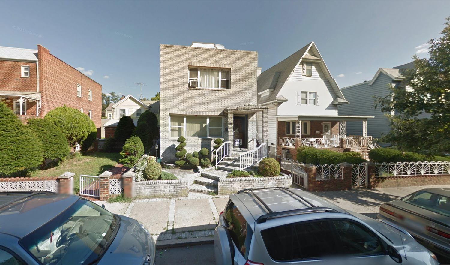 115, 117, and 121 Bay 23rd Street, via Google Maps