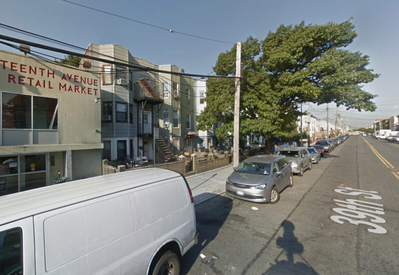 1252 39th Street, second building to the right of the retail market, via Google Maps