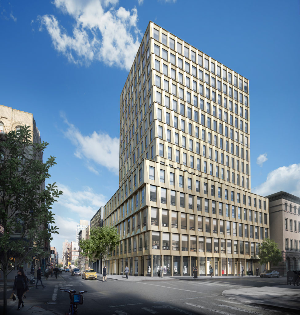 242 Broome Street, Rendering by Moso Studio