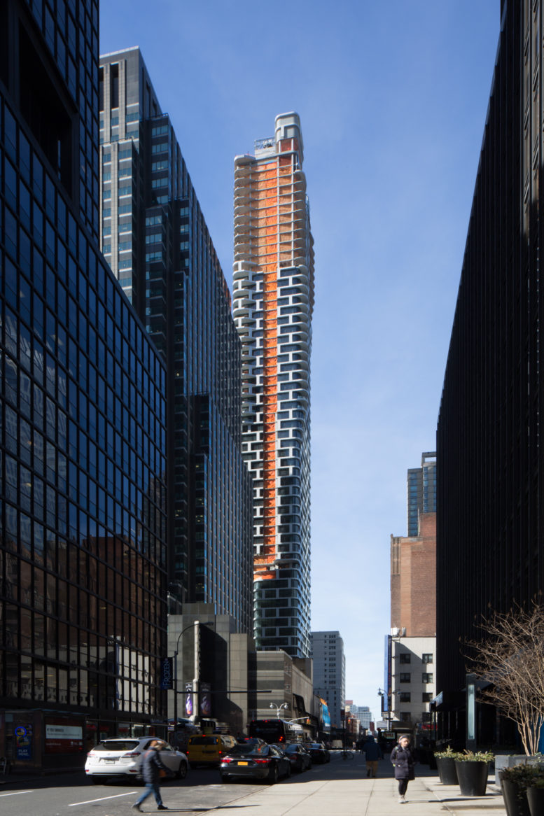 242 West 53rd Street, image by Andrew Campbell Nelson