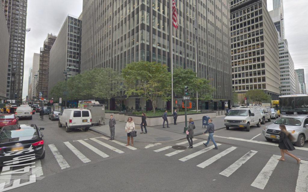 270 Park Avenue street view, via Google Maps