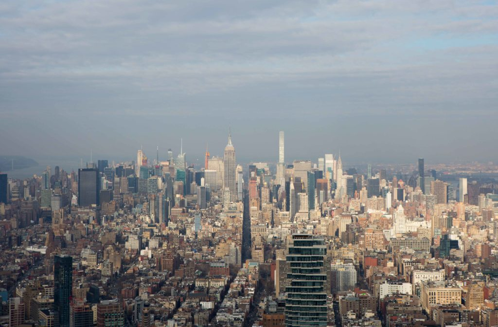 Midtown view from 3 World Trade Center, image by Andrew Campbell Nelson