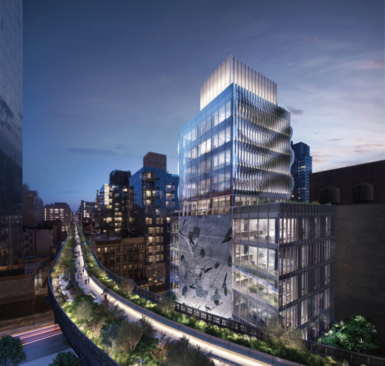 515 West 29th Street, rendering by SCDA Architects