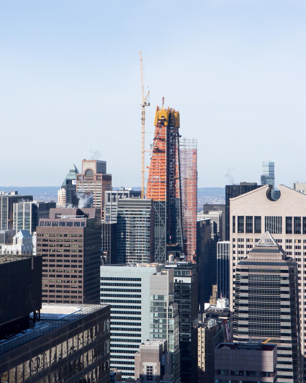 Manhattan Streets: Midtown Manhattan's New Supertalls As Seen From 252 East