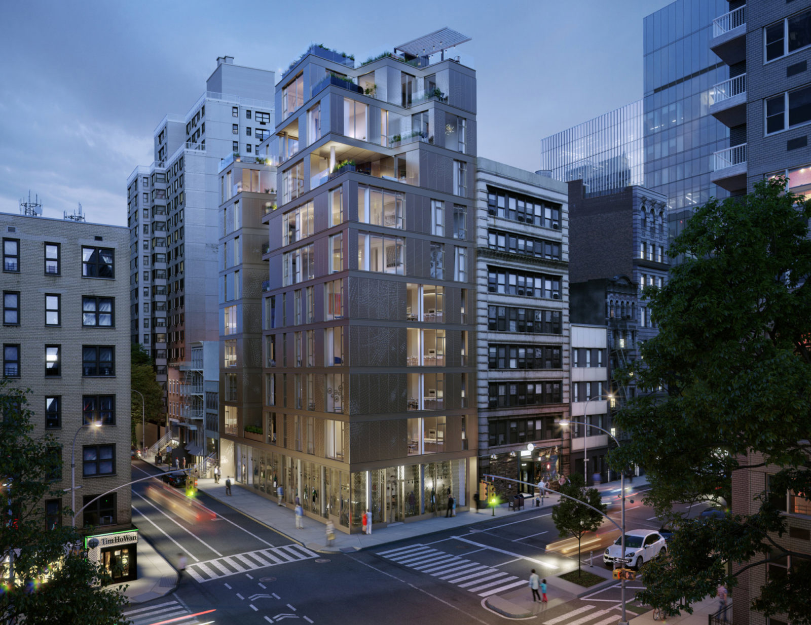 80 East 10th Street, rendering by MOSO Studio
