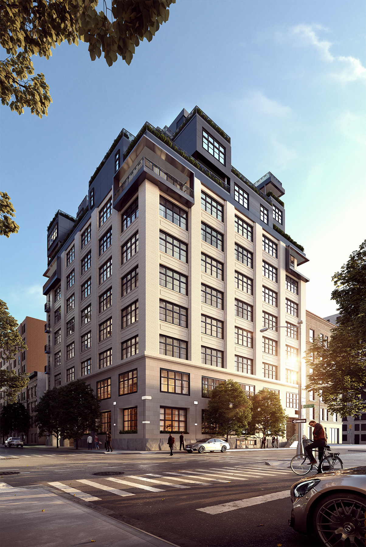 90 Morton Street, rendering by Binyan