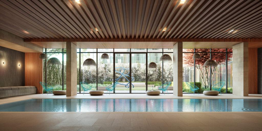 GALERIE Pool, Renderings by Binyan Studios