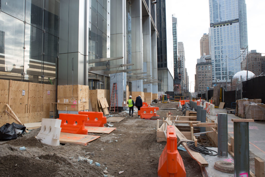 Lobby Entrance of 3 World Trade Center, image by Andrew Campbell Nelson