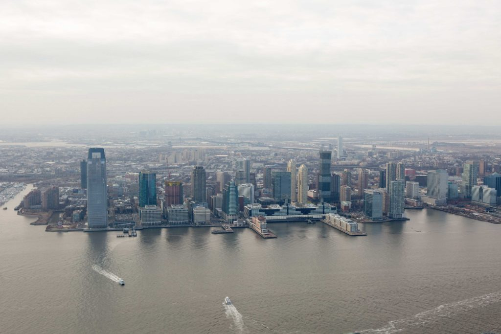 New Jersey from 3 World Trade Center, image by Andrew Campbell Nelson