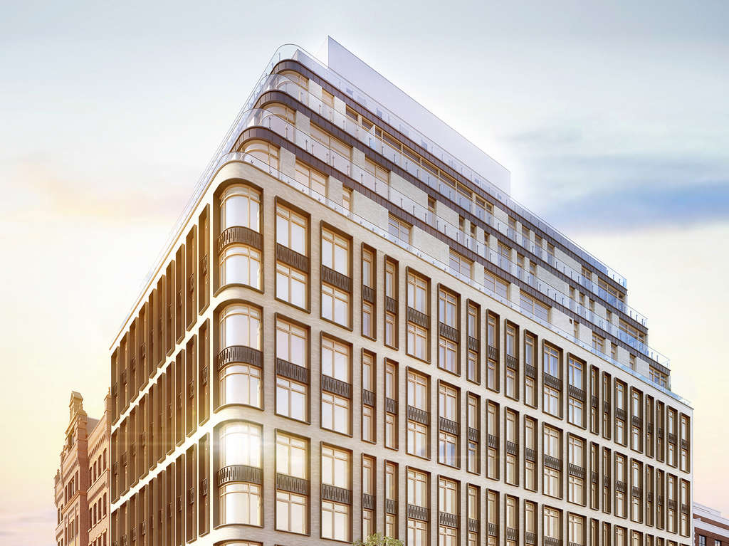Rendering of 40 Bleecker Street, Credit- Williams New York