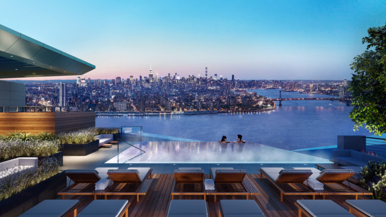 Western hemisphere 39 s highest rooftop infinity pool coming for Jackson terrace yonkers ny