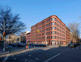 Updated design for 540 Hudson Street, design by Morris Adjmi Architects