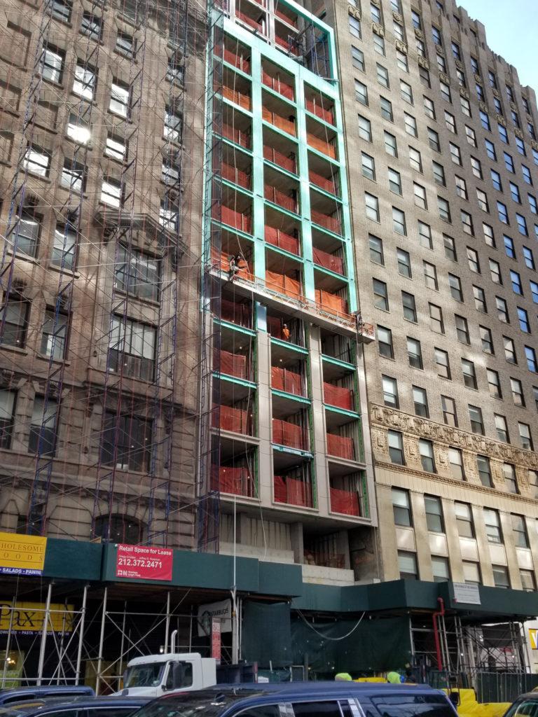 1050 6th Avenue Facade Installation