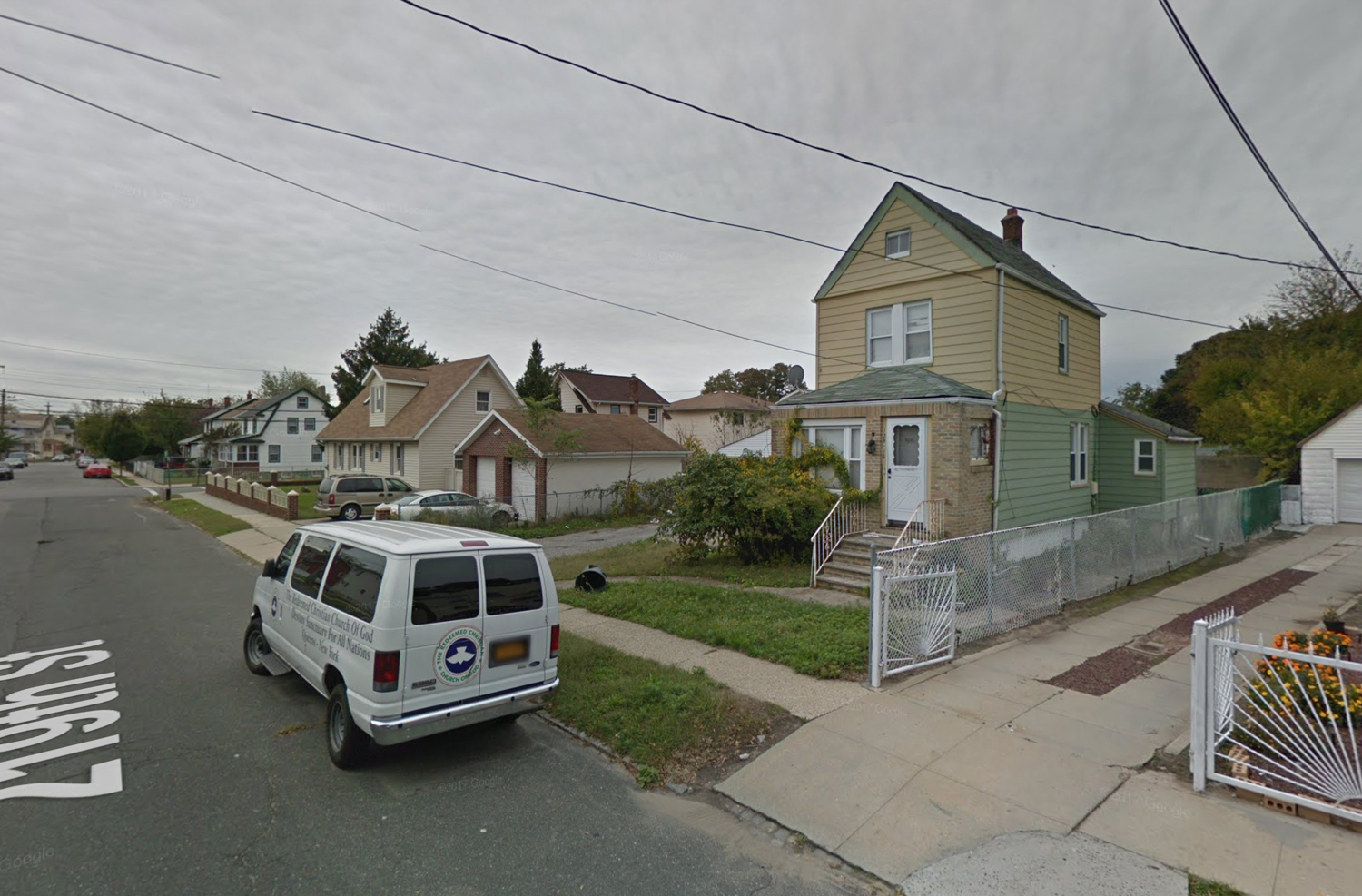 139-16 219th Street, via Google Maps