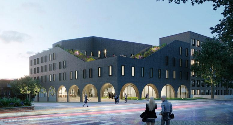 1548 Bedford Avenue, rendering courtesy ODA Architects